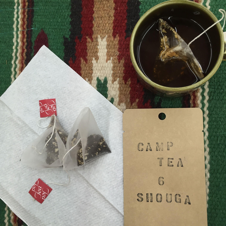 CAMP TEA No.6 『SHOUGA』生姜紅茶ティーバッグ