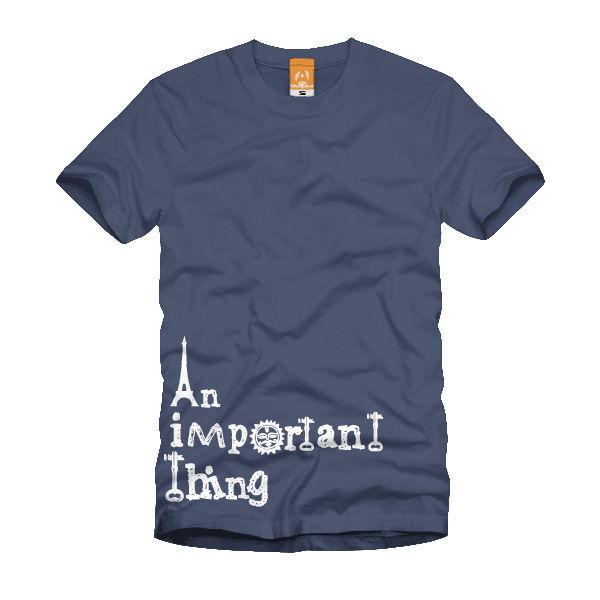 OrangeAce Tシャツ 「宝物」 インディゴ