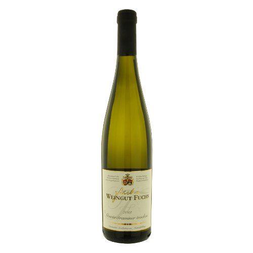 """ドイツの白ワイン 華やかな香り、柔らかな果実味 「ゲヴュルツトラミネール」 2013年、750ml、ラインヘッセン""""Gew?rztraminer trocken"""""""