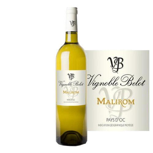 フランス 白ワイン ラングドック ヴァン・ドゥ・ペイ・ドック ドメーヌ・ベロ キュヴェ マリロン・ブラン 2015  750ml