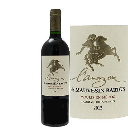 フランス 赤ワイン ボルドー ムーリス・アン・メドックAOC アマゾンヌ・ドゥ・モーヴサン・バルトン 2012年 750ml
