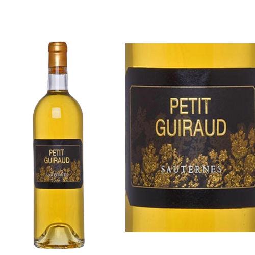フランス、ボルドー、ソーテルヌ 「シャトー・プティ・ギロー」2011年 375ml 甘口 白ワイン