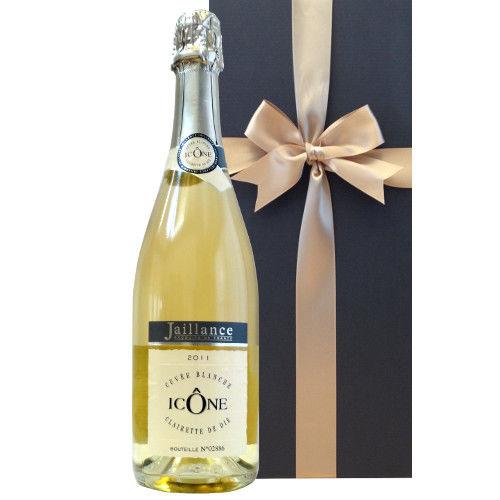 フランス スパークリングワイン「イコン・キュヴェ・ブランシュ」2011年 コート・デュローヌ、AOCクレレット・ド・ディ、ジャイアンス、750ml