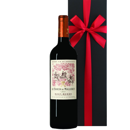 ボルドーグラン・ヴァン、オー・メドックの赤ワイン「 ル・バロン・ド・マレレ 2012年」750ml