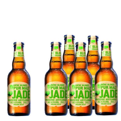 期間限定半額セール 輸入ビールセット 北フランスの地ビール ブラッセリー・カステラン 「ジャド ブロンド ビオ」詰合せセット(250ml×6本セット)