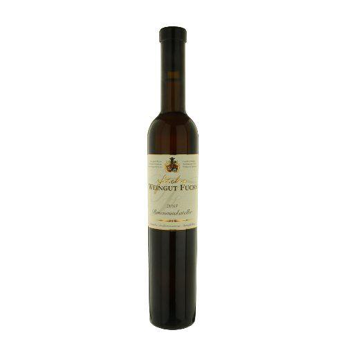 """ドイツのデザートワイン 芳醇な果実味とエレガントな後味「ローゼンムスカテラー ロゼ」2013年、500ml、ファルツ German sweet wine """"Rosenmuskateller Rose"""""""