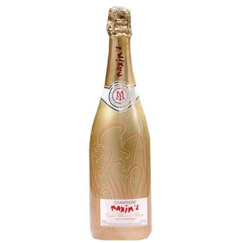 フランス シャンパン マキシム・ド・パリ ブラン・ド・ブラン 「キュヴェ・ゴールド」 シャルドネ 100% 750ml NV