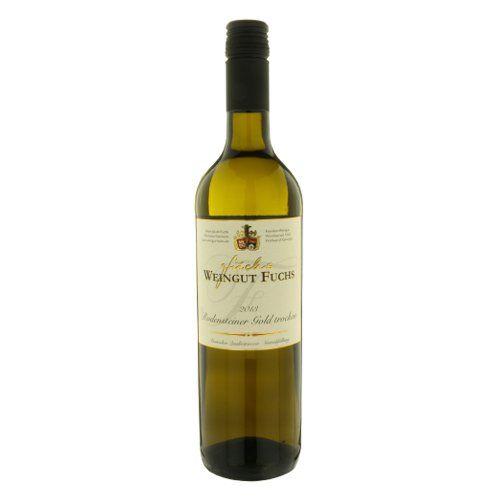 """ドイツの白ワイン 芳醇なアロマと濃厚な味わい「ロデンシュテイナー ゴールド」 2013年、750ml、ファルツ""""Rodensteiner Gold Trocken"""""""