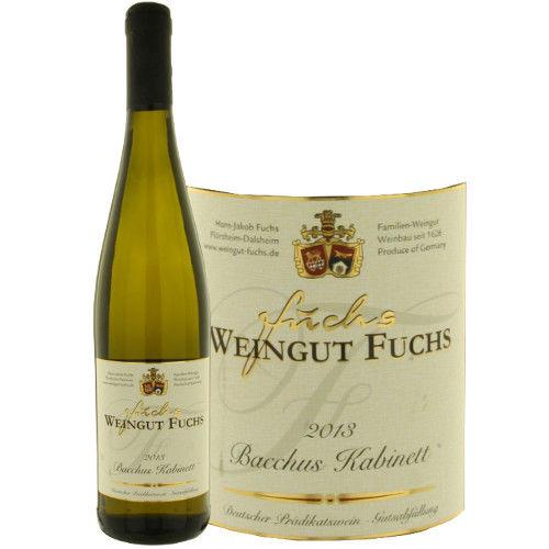 """ドイツの白ワイン フルーティでエキゾチックなアロマ 「バッカス カビネット」 2013年、750ml、ファルツ""""Bacchus cabinet"""""""