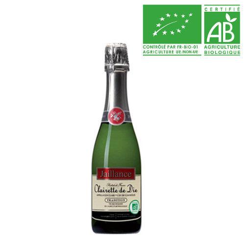 スパークリングワイン ハーフボトル オーガニック ビオ BIO フランス コート・デュ・ローヌ クレレット・ド・ディー やや甘口 375ml