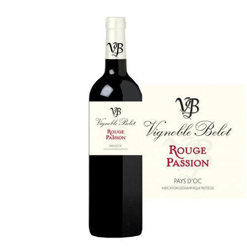 フランス 赤ワイン ラングドック ヴァン・ドゥ・ペイ・ドック ドメーヌ・ベロ ルージュ パッション 2016年 750ml