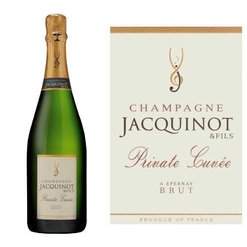 フランス シャンパン、「キュヴェ・プリヴェ」辛口、NV、「ドメーヌ・ジャキノ・エ・フィス」 750ml