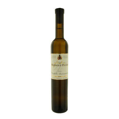 """ドイツのデザートワイン エキゾチックな香りとハチミツのような味わい「フクセルレーベ ベーレンアウスレーゼ」2011年、500ml、ラインヘッセン """"Huxelrebe Beerenauslese"""""""