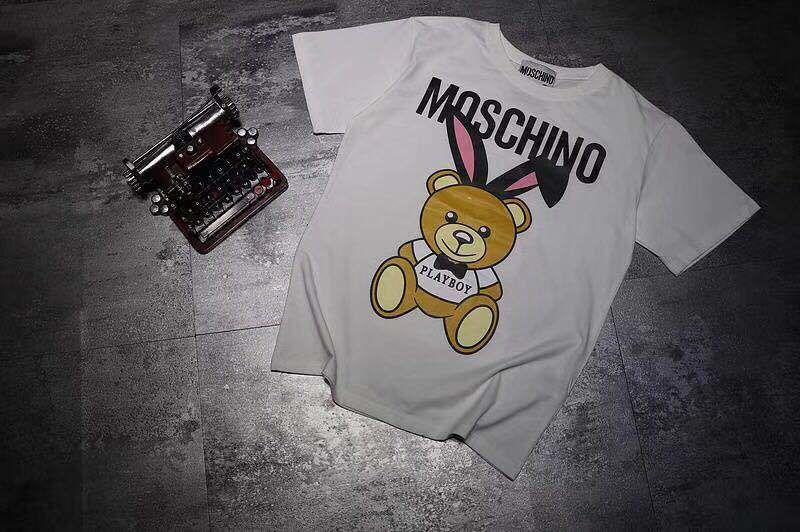 MOSCHINO  モスキーノ    半袖   Tシャツ    トップス   ima-1804