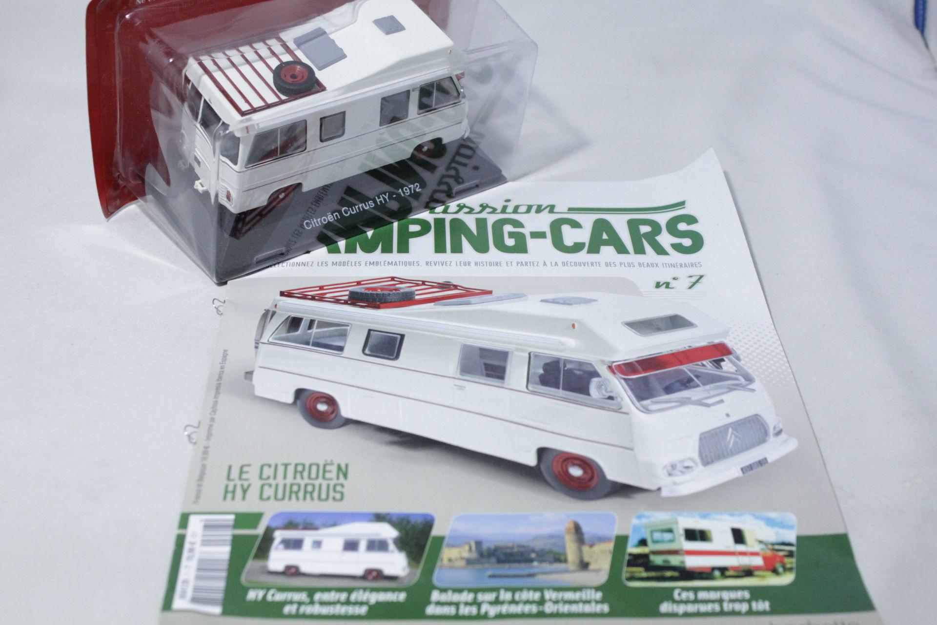 HACHETTE 1/43 シトロエン Currus HY キャンピングカー