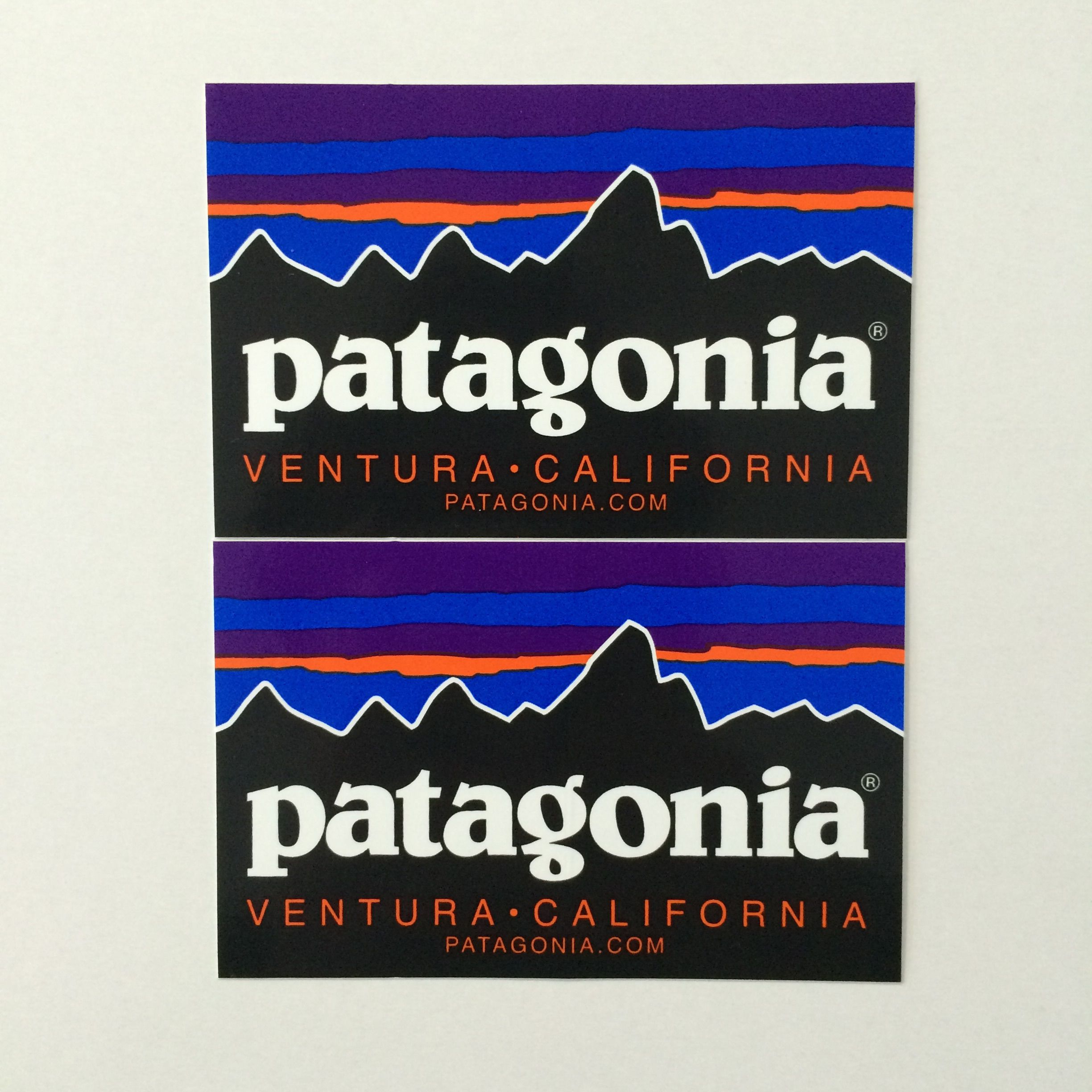 patagonia fitzroy ステッカー2枚セット