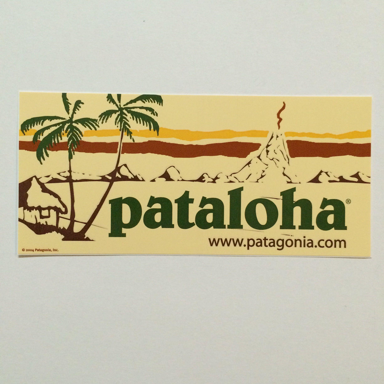 patagonia paloha 2004ver ステッカー
