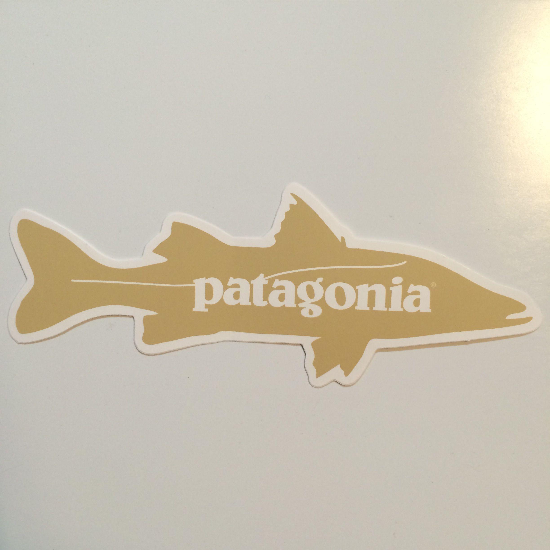 patagonia アカメ フィッシュステッカー