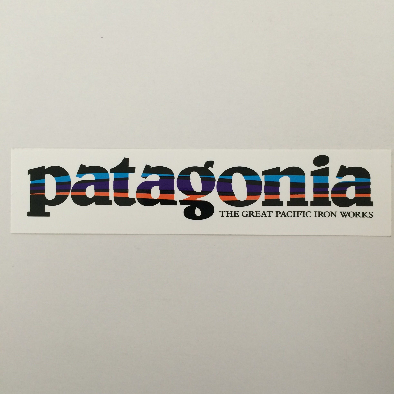 patagonia ロゴステッカー
