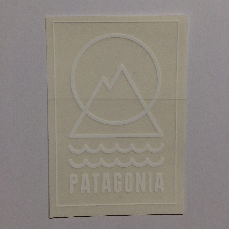 patagonia パタグリフ ステッカー