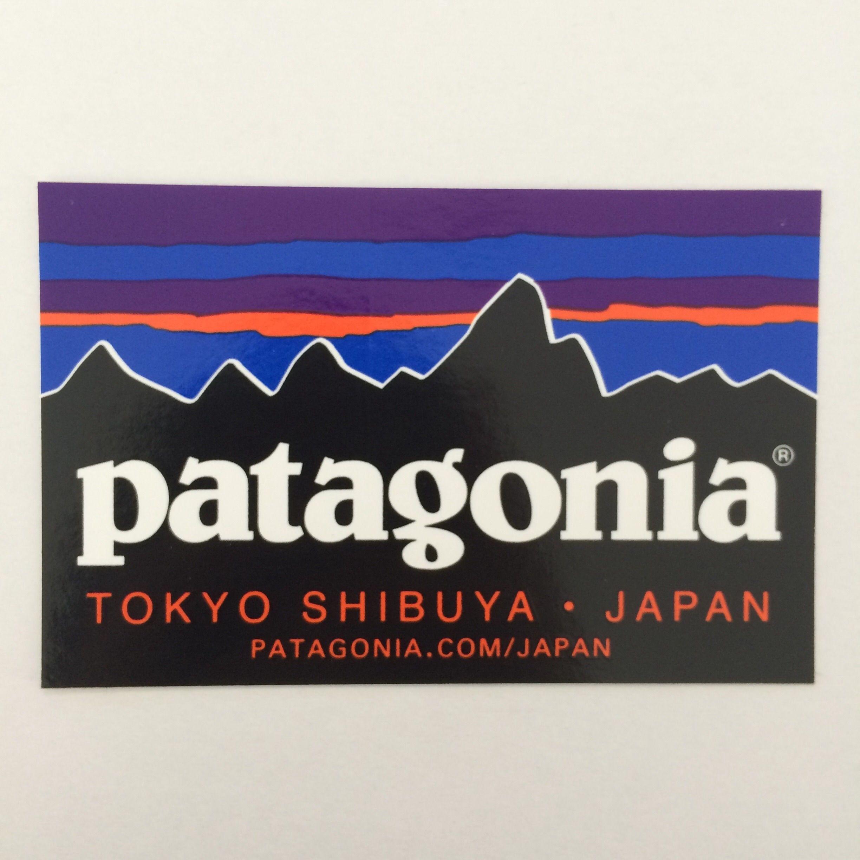 patagonia TOKYO SHIBUYA ステッカー