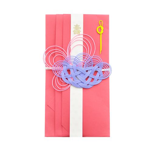 ご祝儀袋 hana (red)
