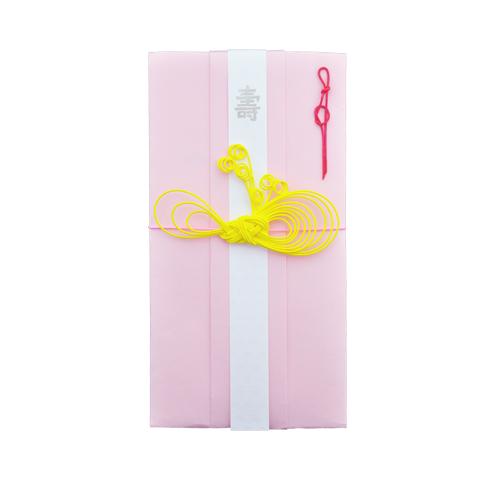 ご祝儀袋 ribbon (pink)
