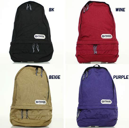 OUTDOOR PRODUCTS TEARDROP BACKPACK  ODCR 06 PURPLE