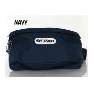OUTDOOR PRODUCTS ボディバッグS NAVY