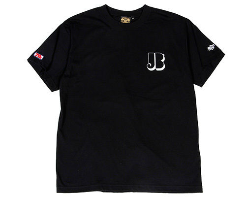 "BBP / James Brown x BBP ""Brown 72"" Tee BLACK"