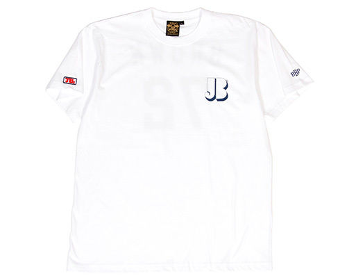 "BBP / James Brown x BBP ""Brown 72"" Tee White"