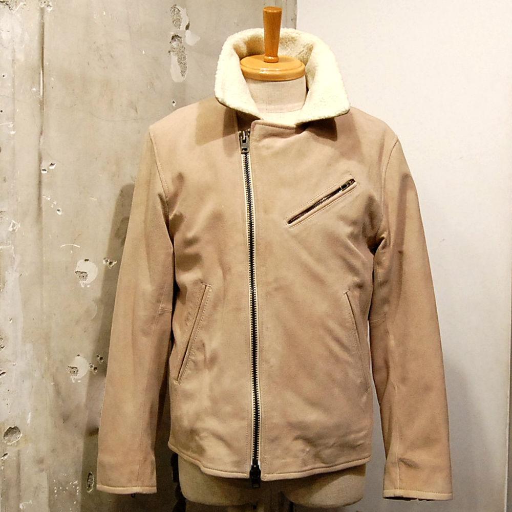 【予約商品】STRATTON TEXTILES  STJ01  Suede Raidars Jacket