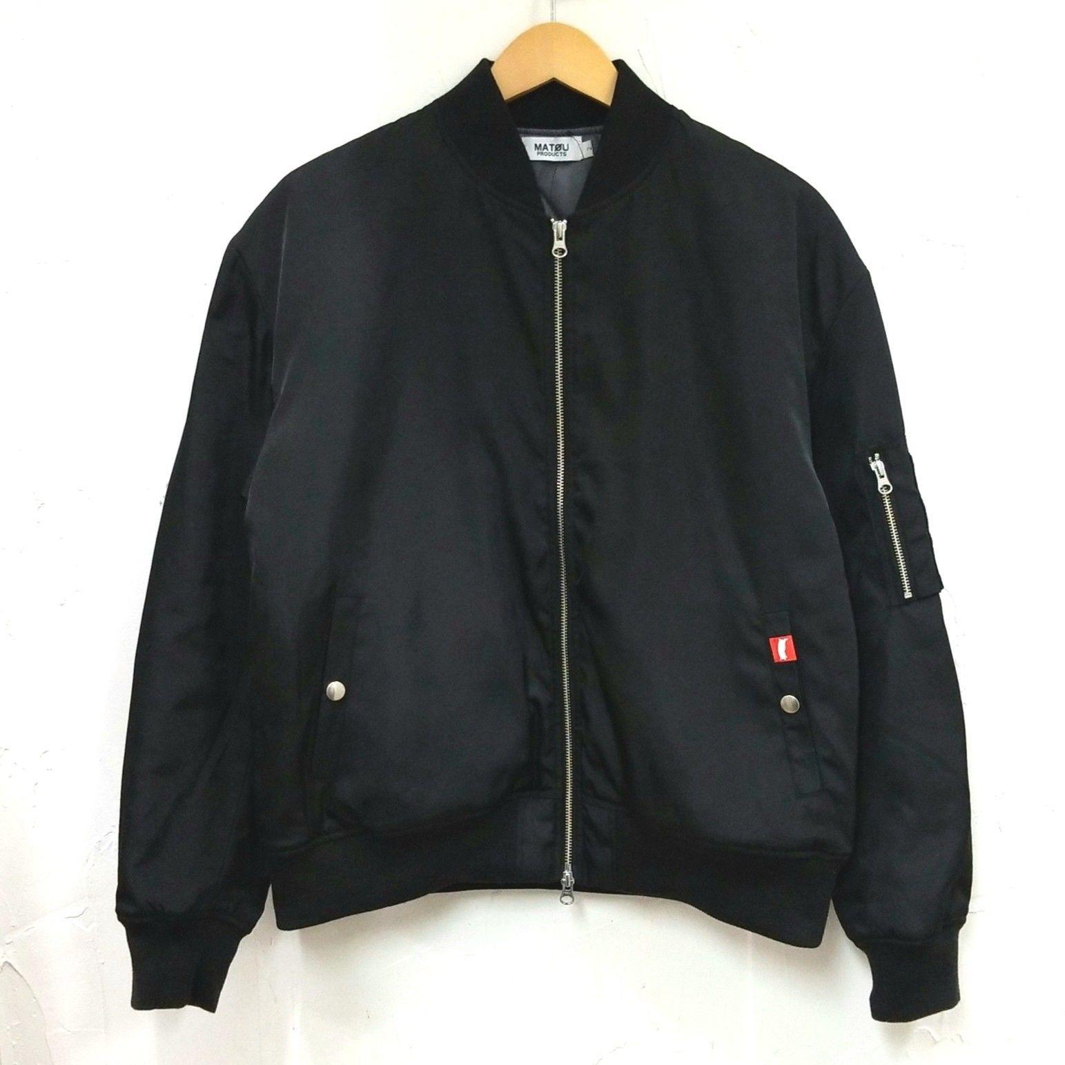MATOU  loose fit bomber jacket MA-1 (メンズ)
