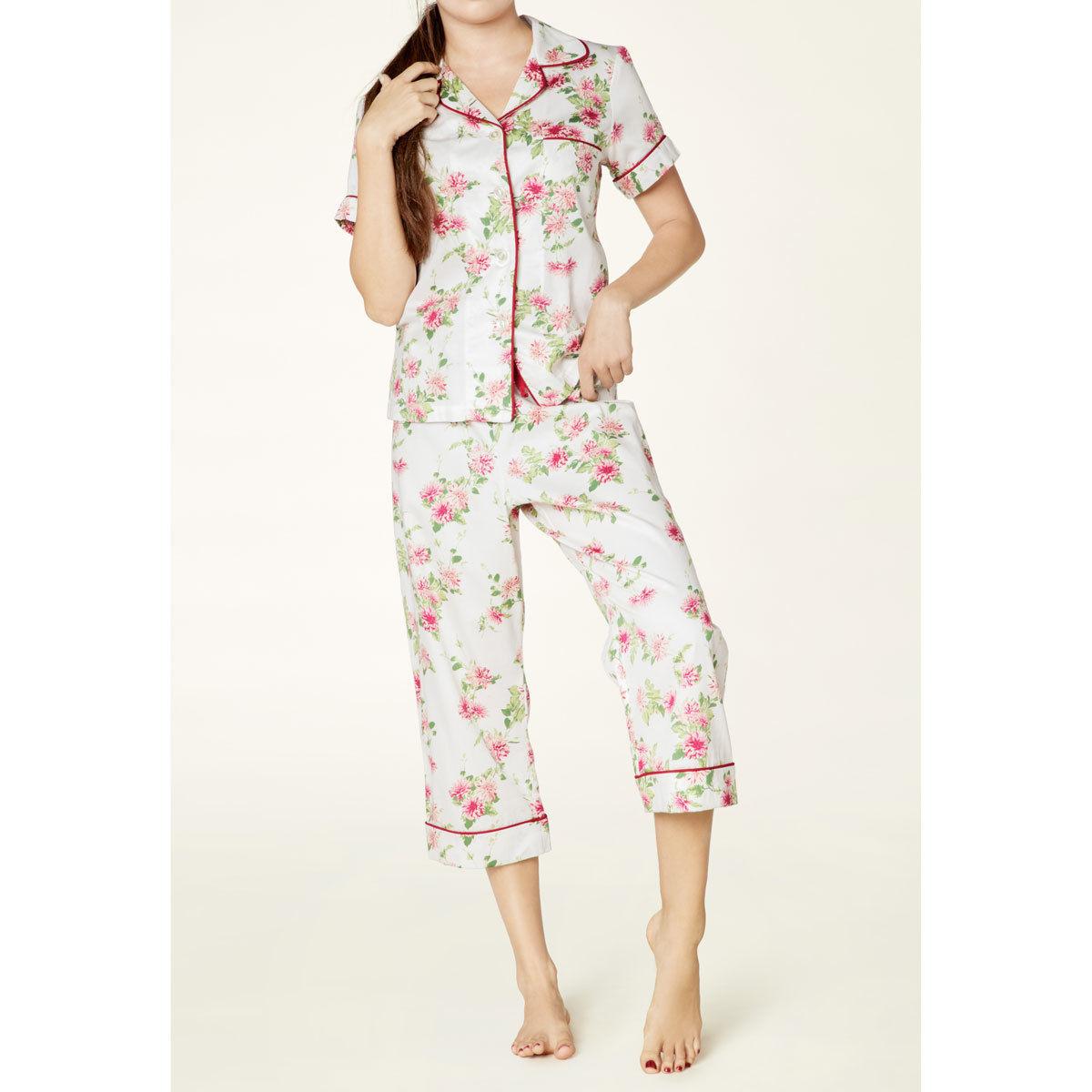 レディースパジャマ 半袖 コットン BedHead Pajamas ベッドヘッドパジャマズ Dahlia