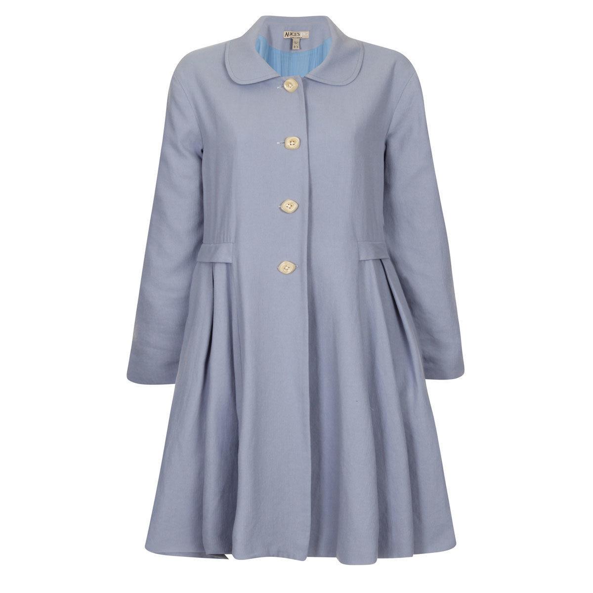 [SALE] Alice's Pig アリスズピッグ スプリングコート Demis Dallas Coat Blue