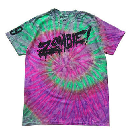 Flatbush Zombies Merch Tie Dye Hoodie Cardigan With Buttons