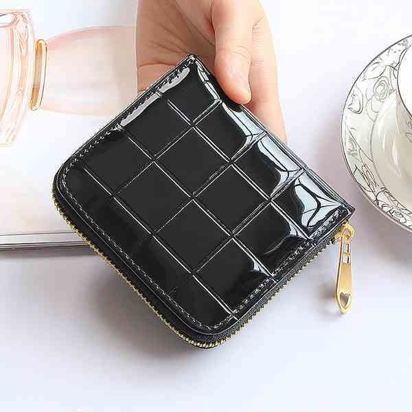 Enamel Compact Wallet