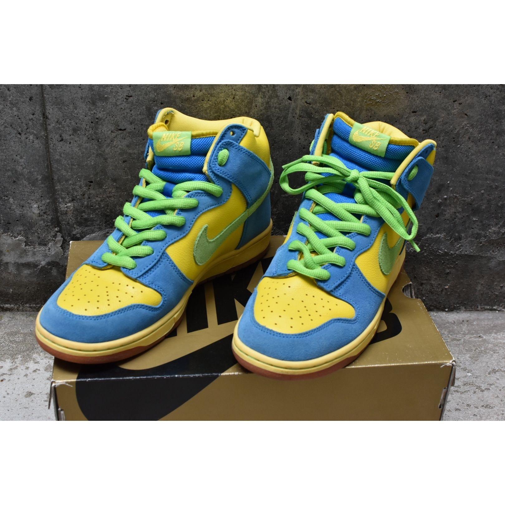 【Nike sb】DUNK HIGH PRO SB 「マージ・シンプソン」