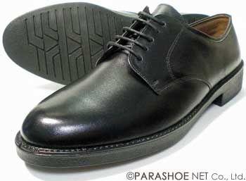 BRAVAS 本革 プレーントゥ ビジネスシューズ 黒 ワイズ3E(EEE)[大きいサイズ 小さいサイズ メンズ革靴・紳士靴/2710BL]