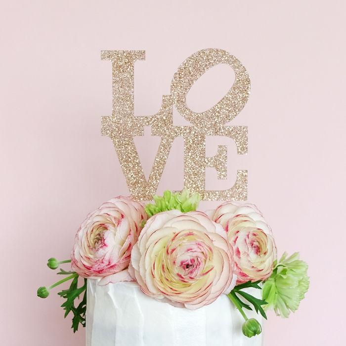 [再販] Cake Topper - Pop Art Love