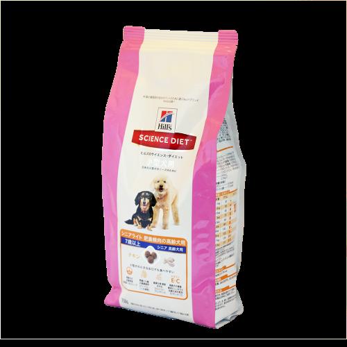 ヒルズ サイエンス・ダイエット シニア 小型犬用  高齢犬用 750g