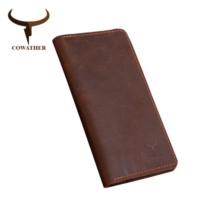 Cowather 高品質 男性財布 452 7/10