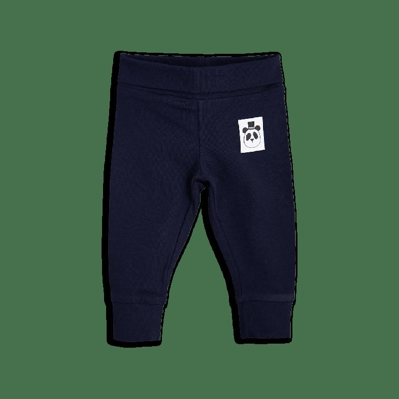 【 mini rodini 2017AW】BASIC NB LEGGINGS / 62cm /Navy