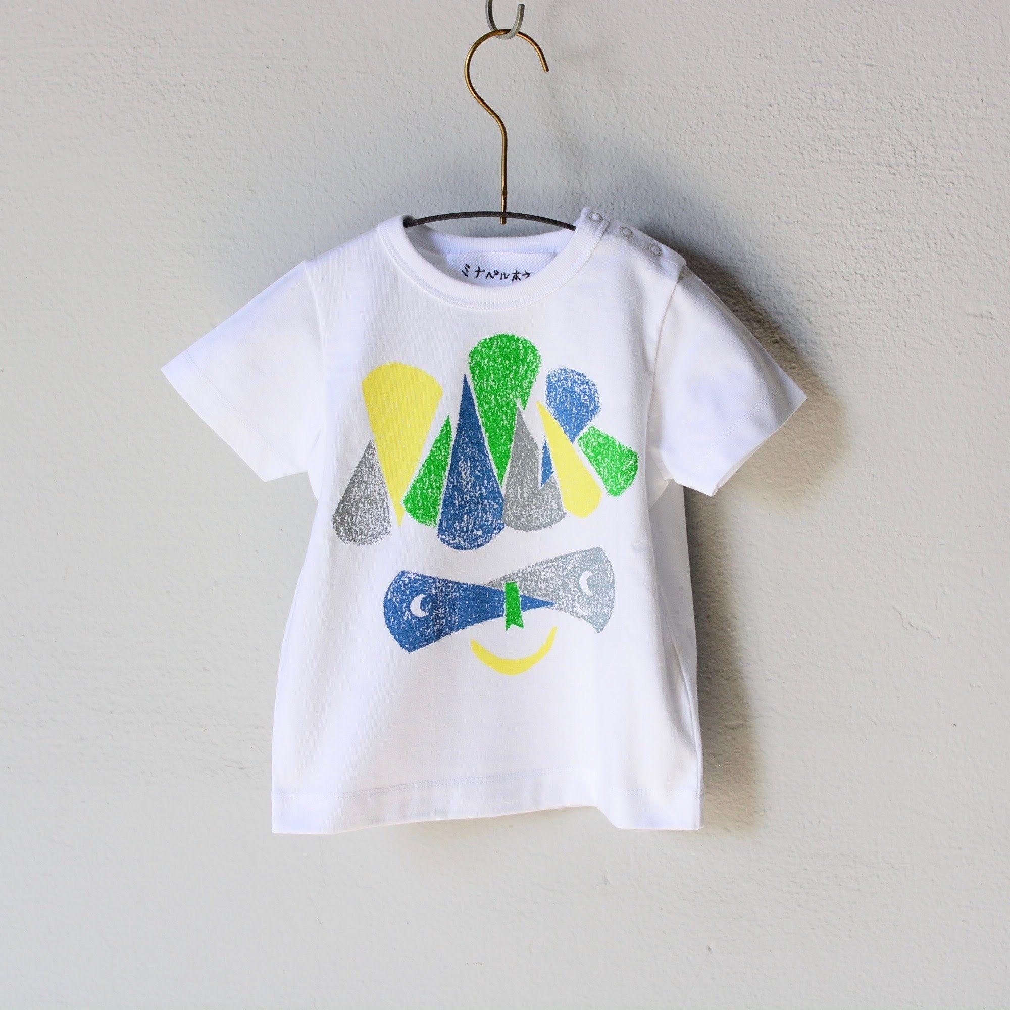 """【 ミナペルホネン 18SS 】 Tシャツ """"M.Crocus"""" / white  / 110-130cm  (WS8883P)"""