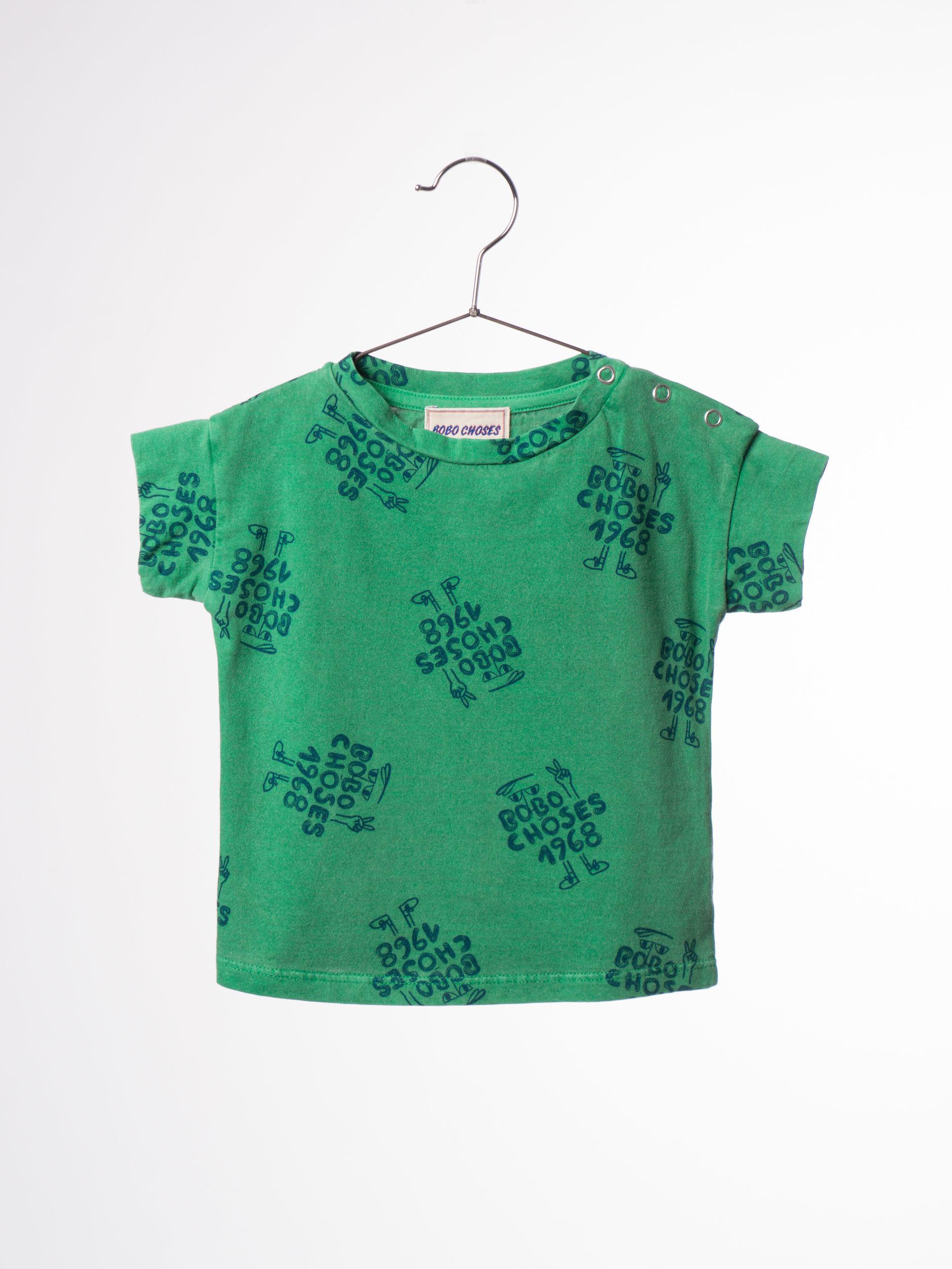 【BOBO CHOSES 2017SS】117175 Baby T-shirt 1968 AO