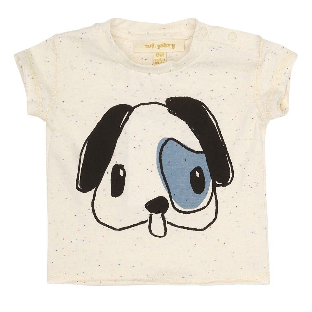 【 Soft Gallery 2018SS 】Baby Ashton T-shirt/ 123. Desert Neppy, Pup