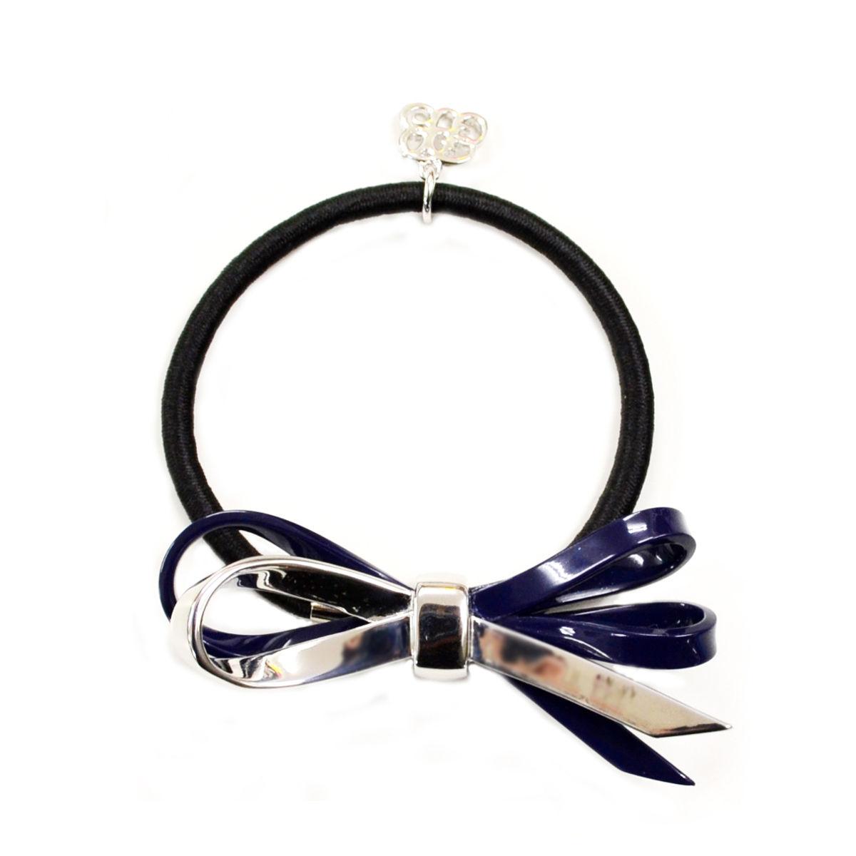 bella hair elastic navy