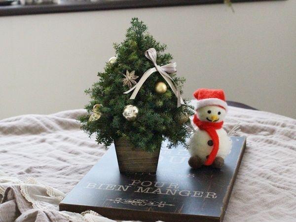クリスマスツリーミニ