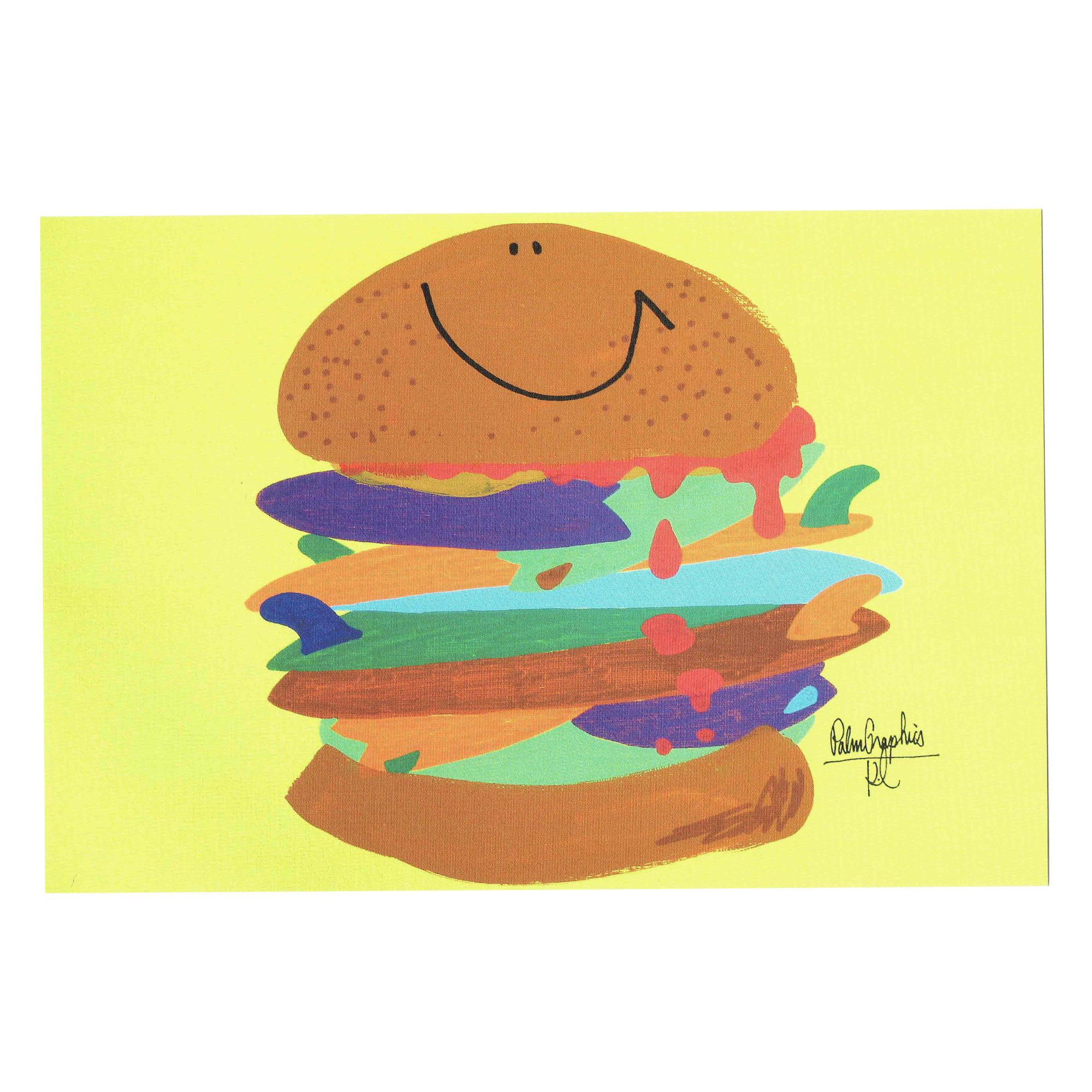 84478 PG ポストカード Hamburger
