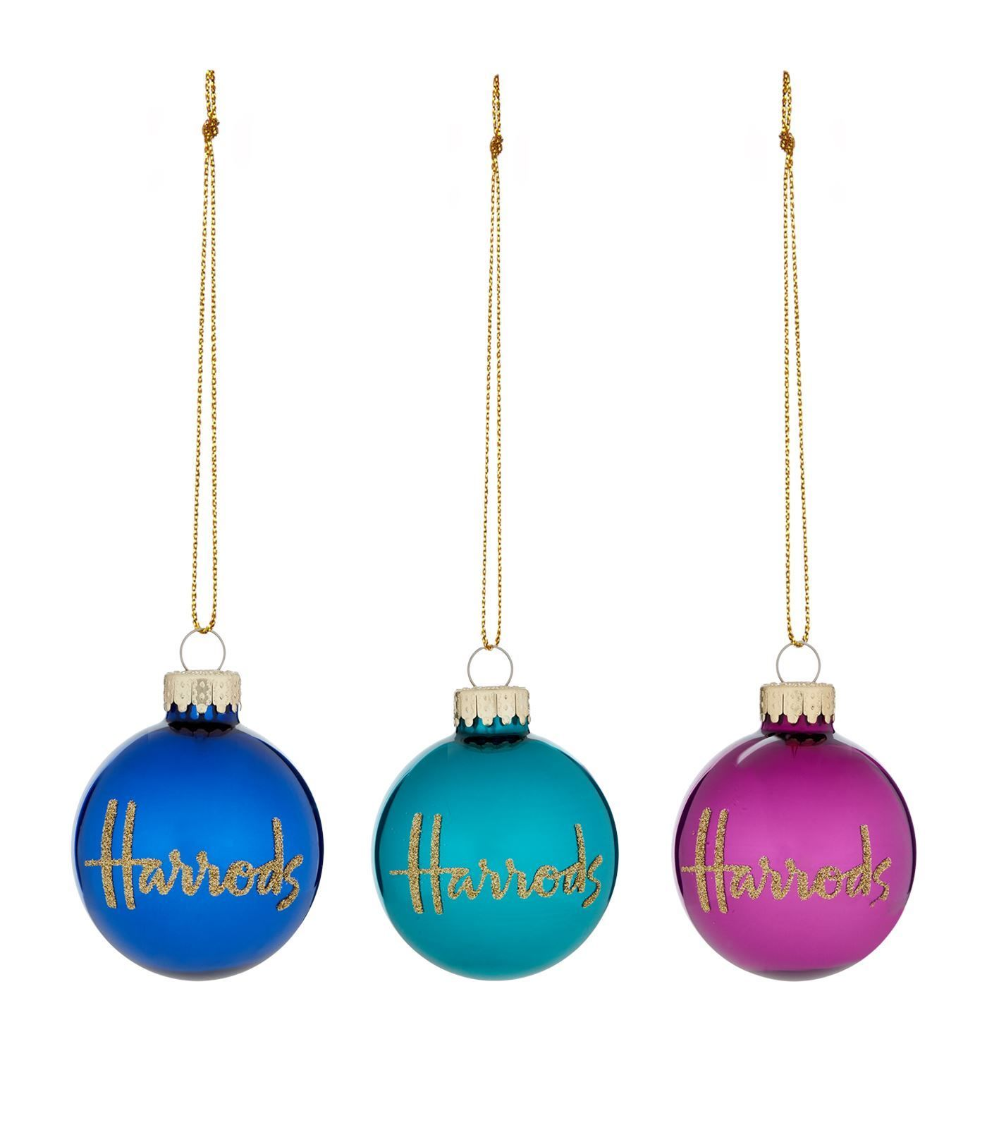 [Harrods] ハロッズ オーナメント / ミニバブル クリスマス 飾りつけ デコレーション
